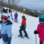 Craigleith skiers