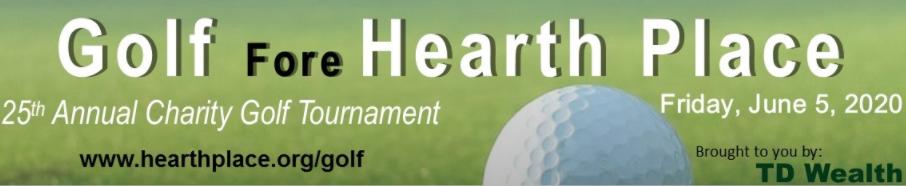 Annual Golf Tournament Banner