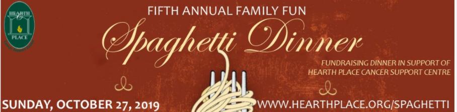 Spaghetti Dinner Banner