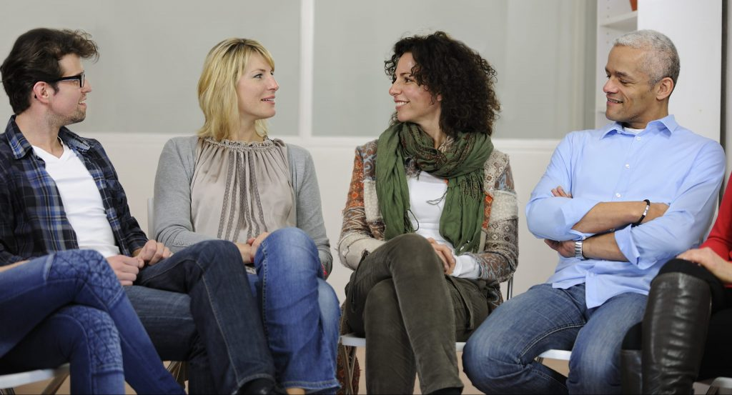 Group discussion or therapy, Cancer support groups near me